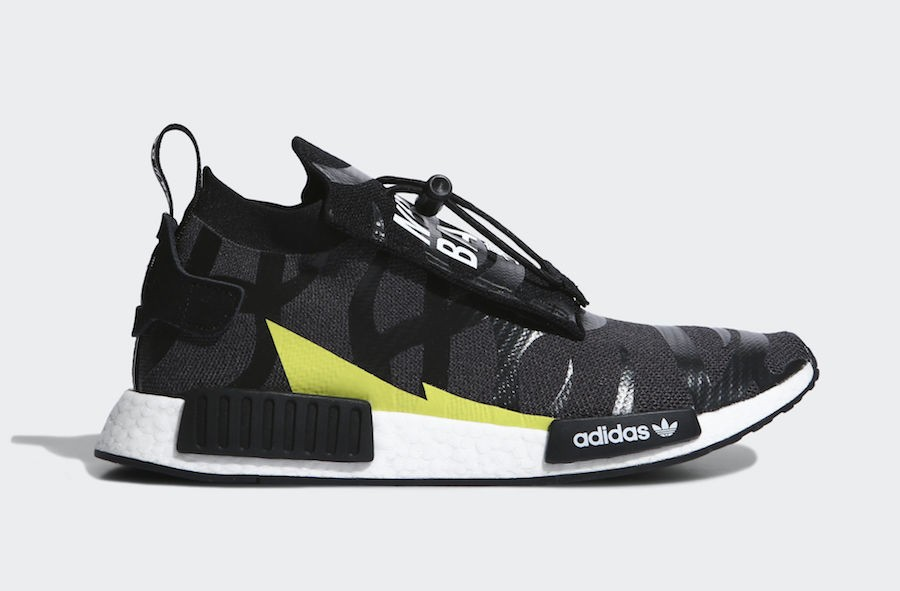 Bape x Neighborhood x adidas NMD STLT Skor EE9702